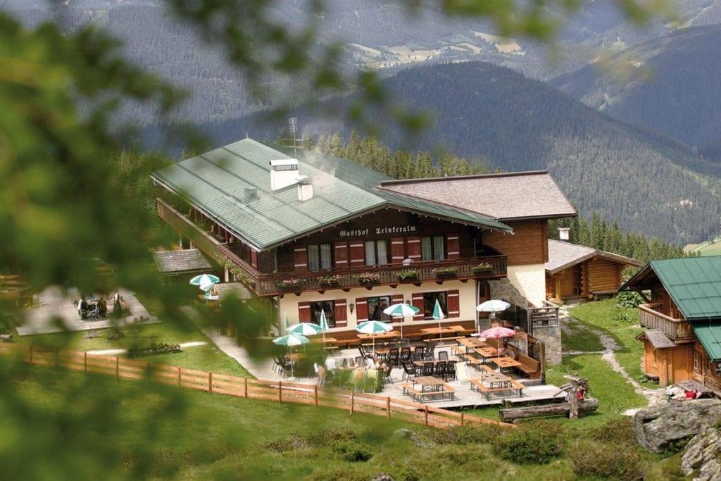 Trinkeralm - Alpengasthof in Forstau, Fageralm