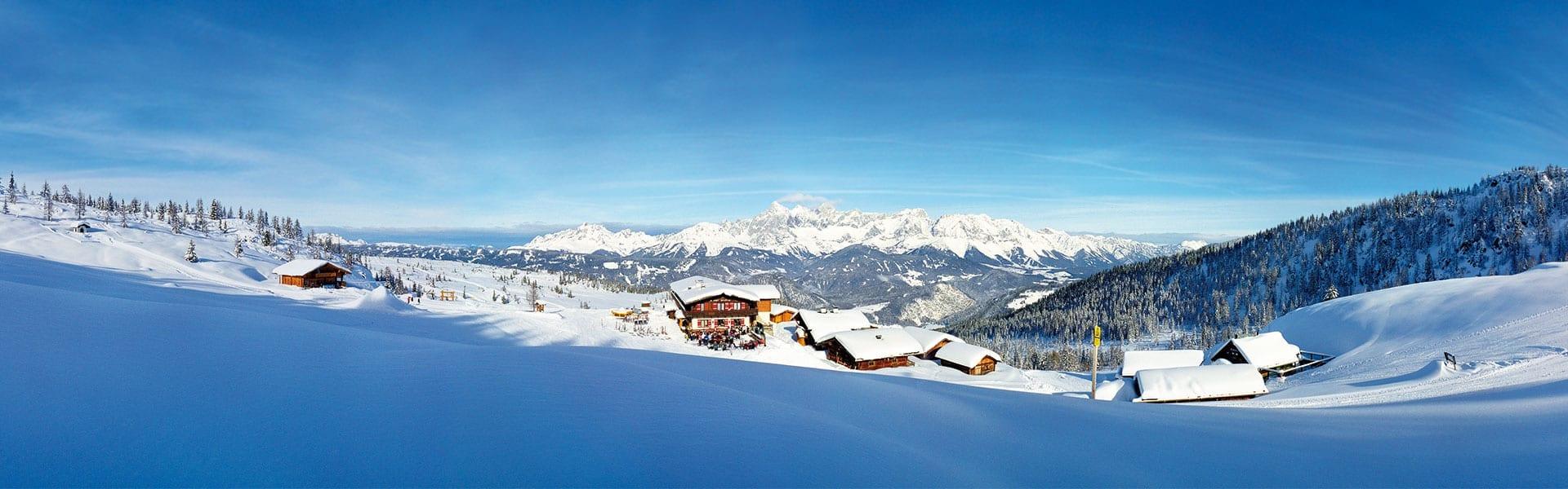 Skihütte in Ski amade, Fageralm
