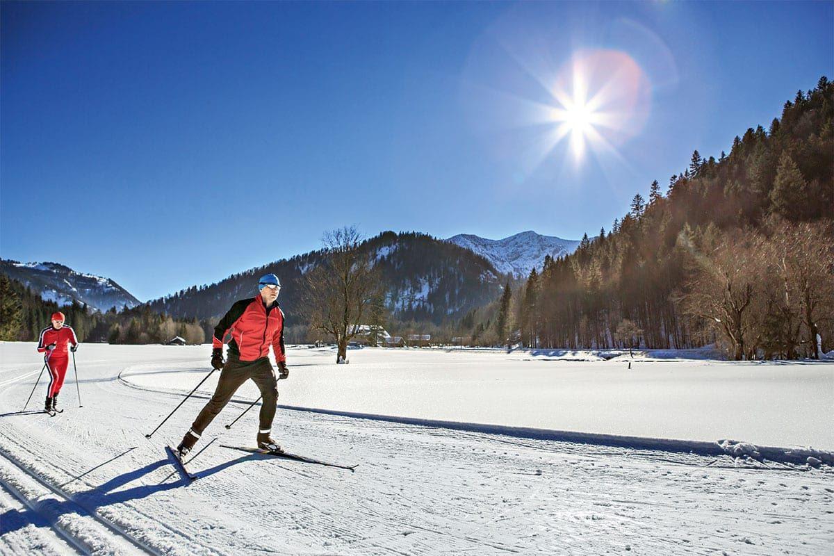 Langlaufen im Winterurlaub in Forstau, Ski amadé
