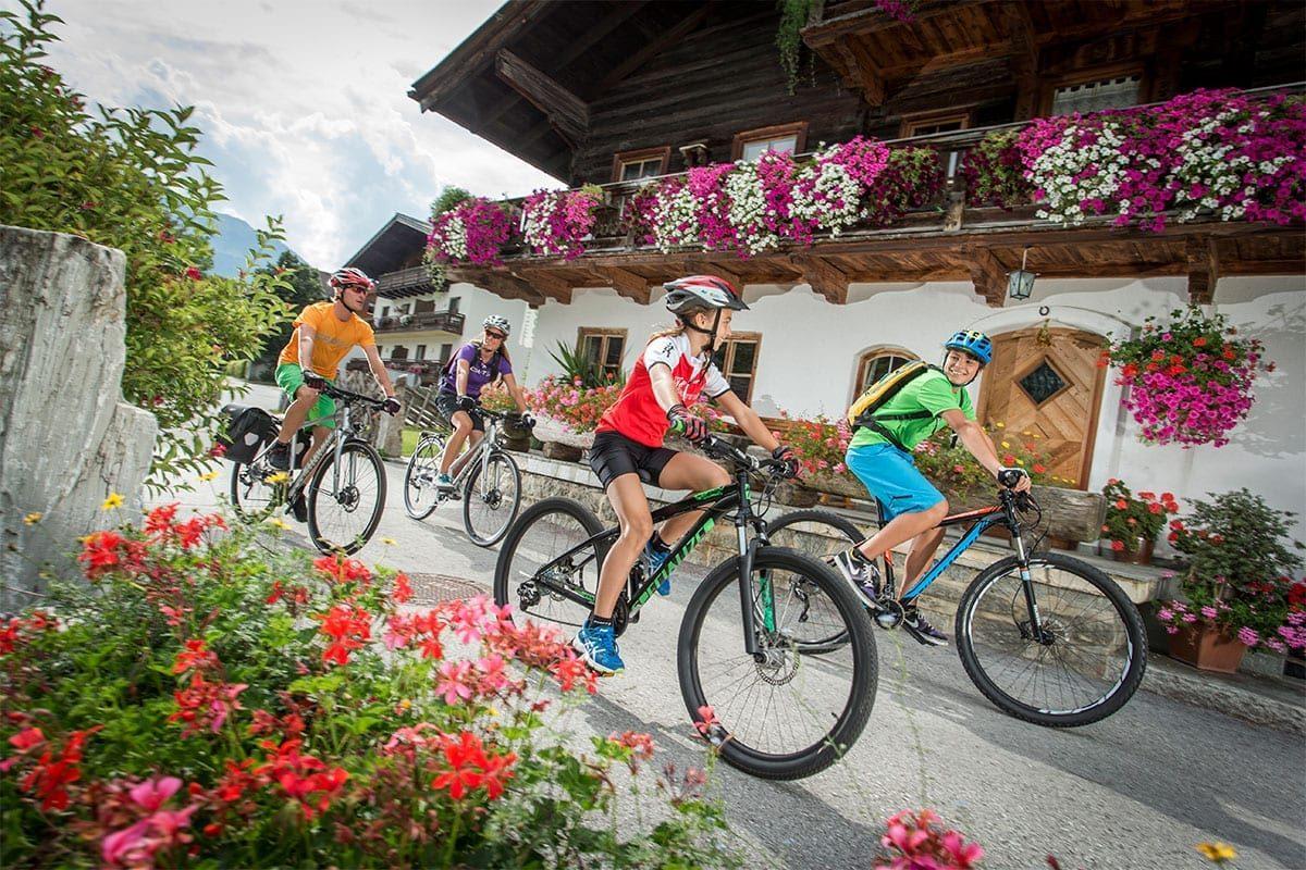 Mountainbiken im Sommerurlaub im Salzburger Land
