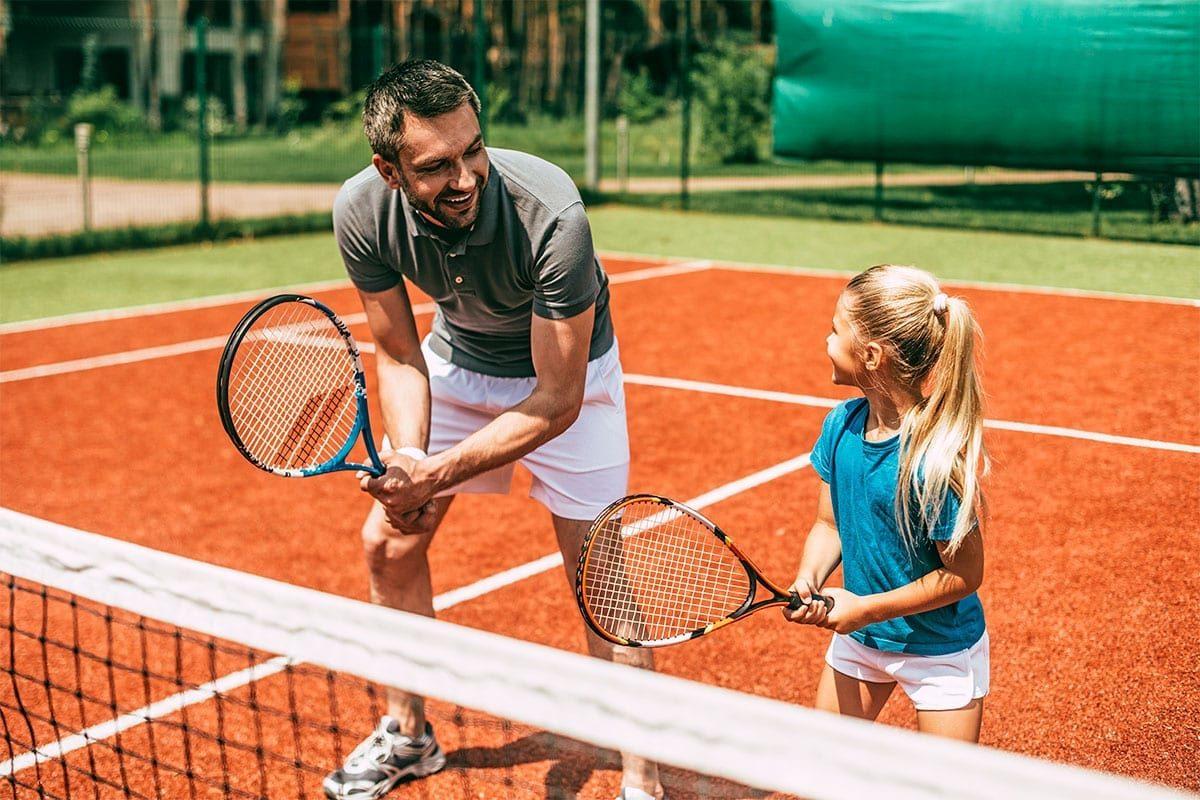 Tennis im Sommerurlaub in Forstau, Salzburger Land