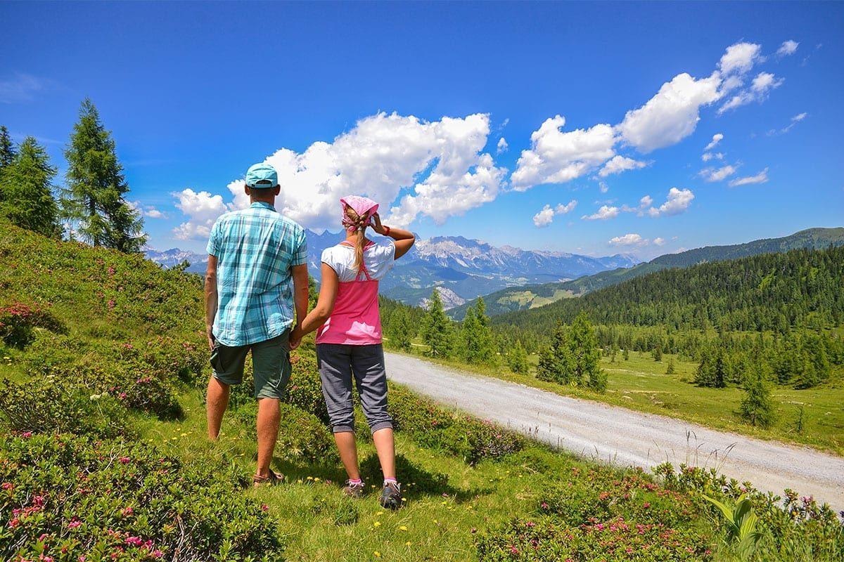 Wandern im Sommerurlaub in Forstau, Salzburger Land